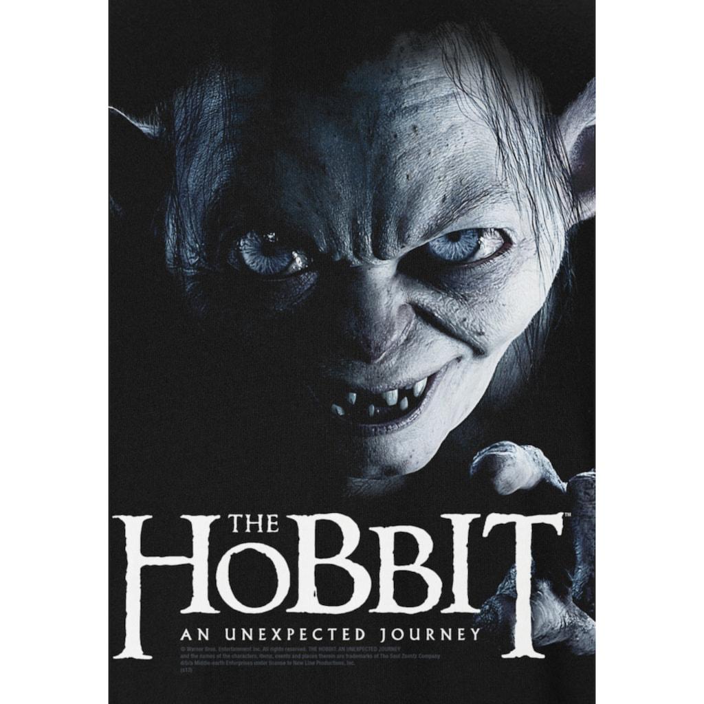 LOGOSHIRT Print-Shirt »The Hobbit – Gollum«, mit lizenziertem Originaldesign