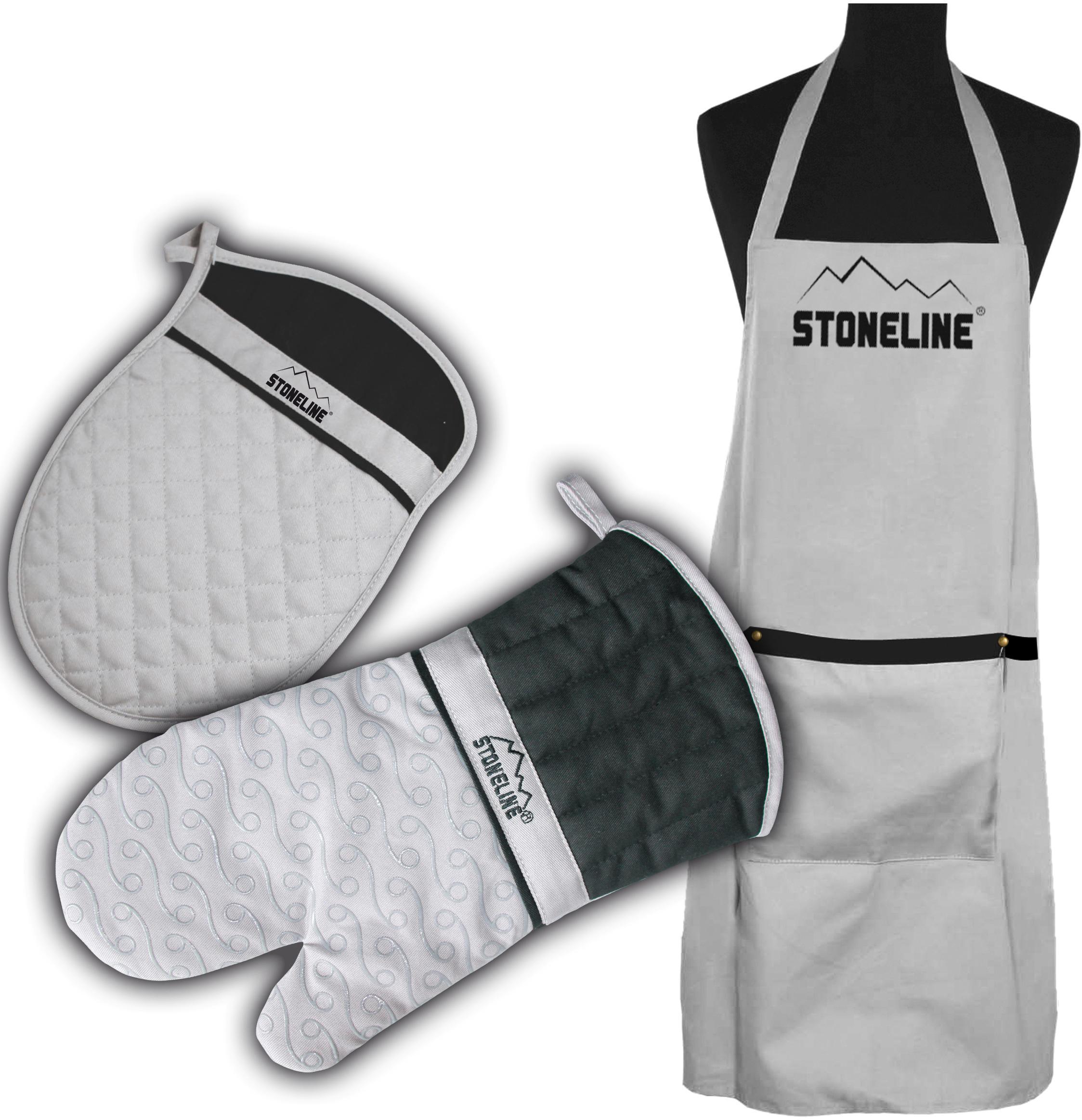 STONELINE Kochschürze (Set 3-tlg) Wohnen/Haushalt/Haushaltswaren/Kochen & Backen/Küchenschürze und Kochschürze