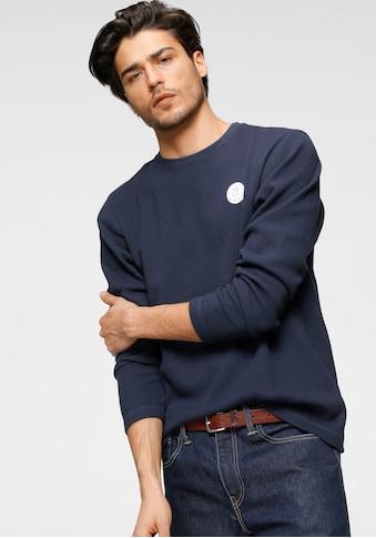 KangaROOS Langarmshirt, mit Logobrustbadge kaufen