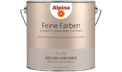 ALPINA Wand -  und Deckenfarbe »Feine Farben  -  Dächer von Paris«, 2,5 l kaufen