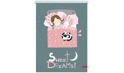 LICHTBLICK Seitenzugrollo »Klemmfix Digital Sweet Dreams«, verdunkelnd, energiesparend, ohne Bohren, freihängend, bedruckt kaufen