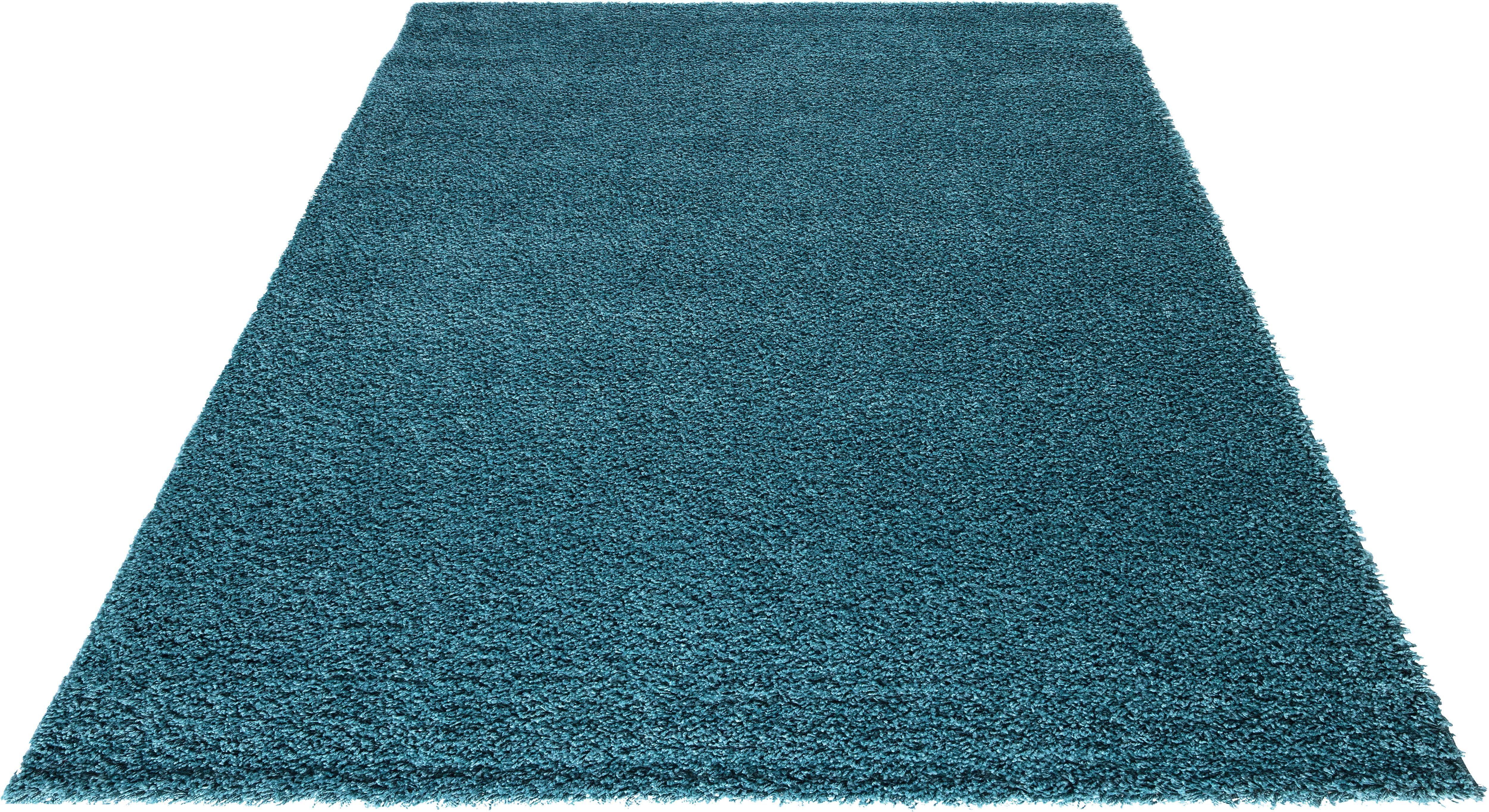 Hochflor-Teppich Liv my home rechteckig Höhe 30 mm maschinell gewebt