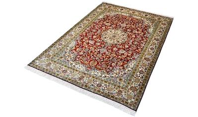 Kayoom Seidenteppich »Kashan 6383«, rechteckig, 10 mm Höhe, Einzelstück mit... kaufen