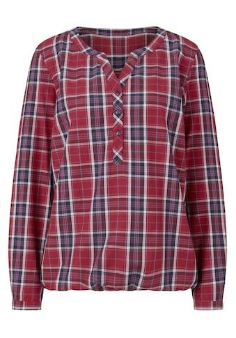 Casual Looks Bluse mit Gummizug kaufen