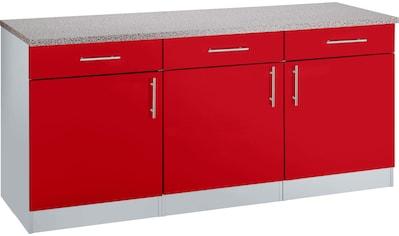 wiho Küchen Unterschrank »Kiel«, 180 cm breit kaufen