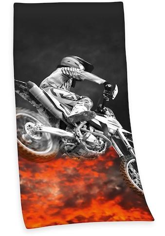 Herding Badetuch »Motocross«, (1 St.), mit tollem Motiv kaufen