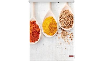 Seitenzugrollo »Klemmfix Motiv Spices«, LICHTBLICK, Lichtschutz, ohne Bohren, freihängend kaufen