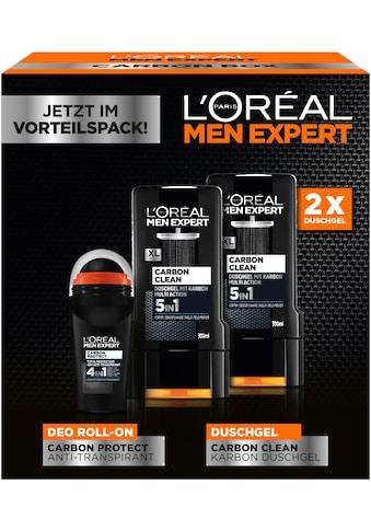 """L'ORÉAL PARIS MEN EXPERT Geschenk - Box """"Carbon Protect & Clean Box"""", 3 - tlg. kaufen"""
