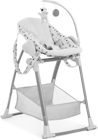 Hauck Kombihochstuhl »Sit N Relax 3in1, Nordic Grey«, mit Neugeborenenaufsatz und Wippengestell kaufen
