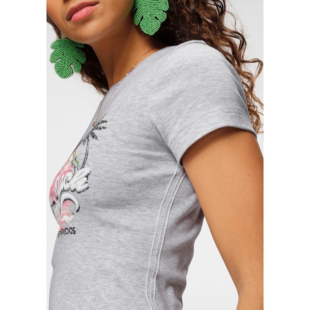 """KangaROOS T-Shirt, mit """"Long Beach"""" Print"""