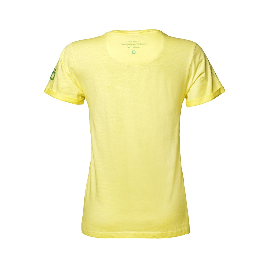 CODE-ZERO T-Shirt »Voile St. Barth T-Shirt Damen«, Prints