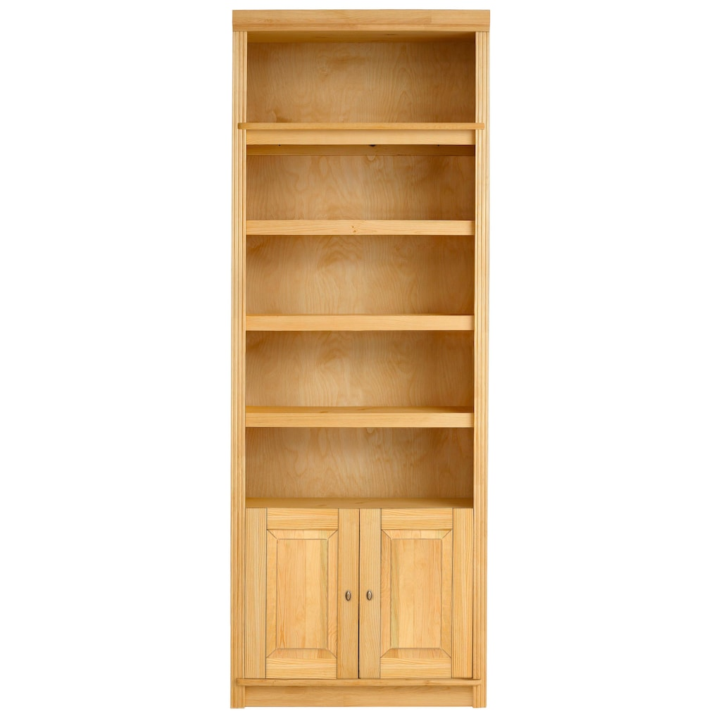 Home affaire Bücherregal »Cliff«, in 2 Höhen, mit 2 Holztüren