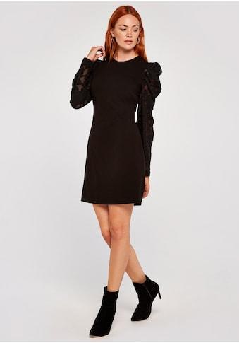 Apricot Etuikleid »Sheer Puff Sleeve Bodycon Dress«, mit Puffärmeln kaufen