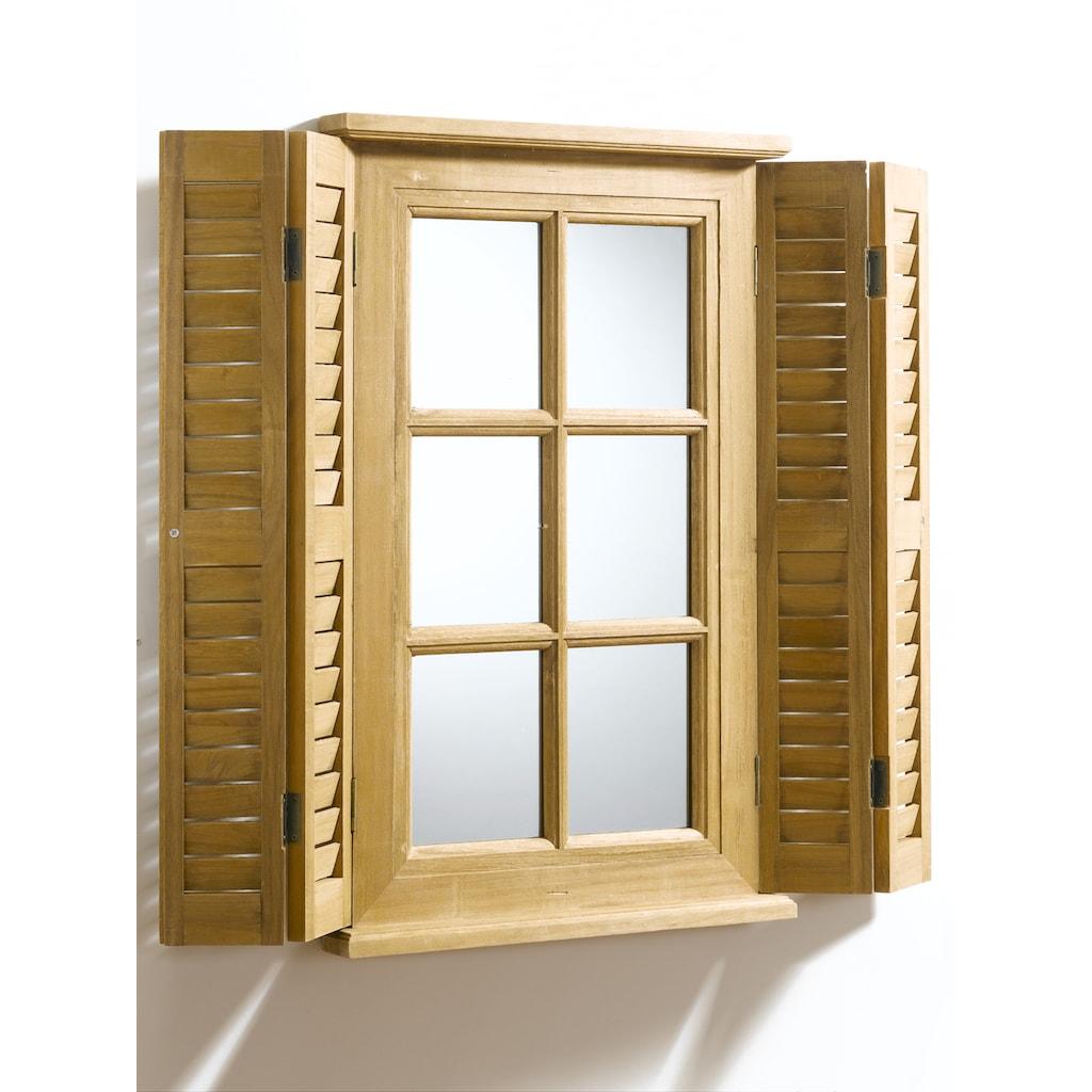 Spiegelfenster als Wanddeko