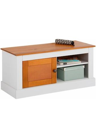 Home affaire Sitzbank »Como«, aus massivem Kiefernholz, mit schönen Stauraummöglichkeiten kaufen
