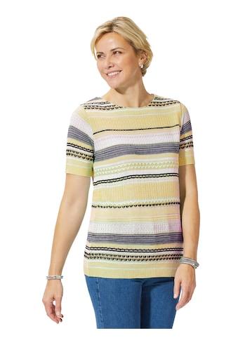 Casual Looks Kurzarmpullover »Pullover« kaufen