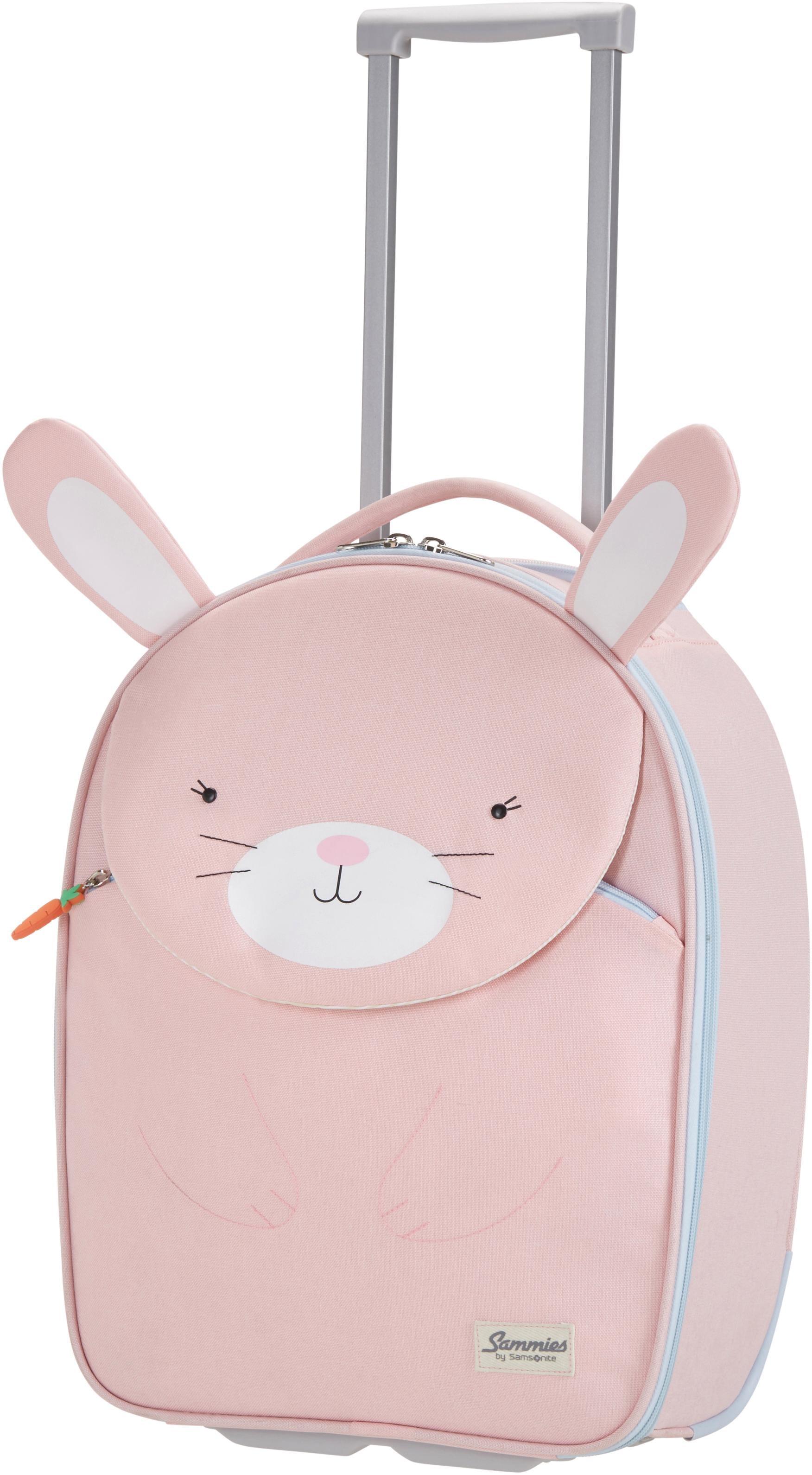 Sammies by Samsonite Kinderkoffer Happy Sammies Rabbit Rosie 2 Rollen | Taschen > Koffer & Trolleys > Trolleys | Rosa | Sammies By Samsonite