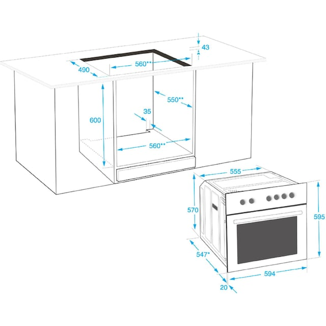 BEKO Elektro-Herd-Set, Simple Steam Reinigungsfunktion