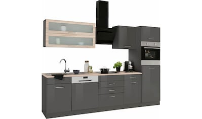 HELD MÖBEL Küchenzeile »Utah«, mit E-Geräten, Breite 280 cm kaufen