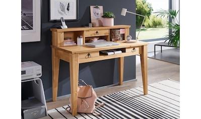 Premium collection by Home affaire Schreibtisch »Brasilia«, aus Massivholz, hochwertig... kaufen