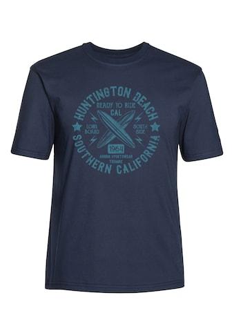 AHORN SPORTSWEAR T - Shirt mit tollem Frontprint kaufen