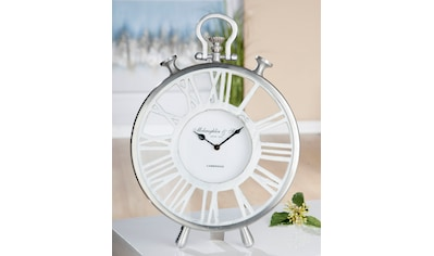 GILDE Standuhr »Uhr Atona«, Höhe 42 cm, rund, römische Ziffern, Wohnzimmer kaufen
