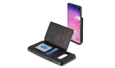 Hama Cover,Tasche für Samsung Galaxy S10e Red Sensation No. 5 »Smartphone Hülle Schwarz/Rot« kaufen