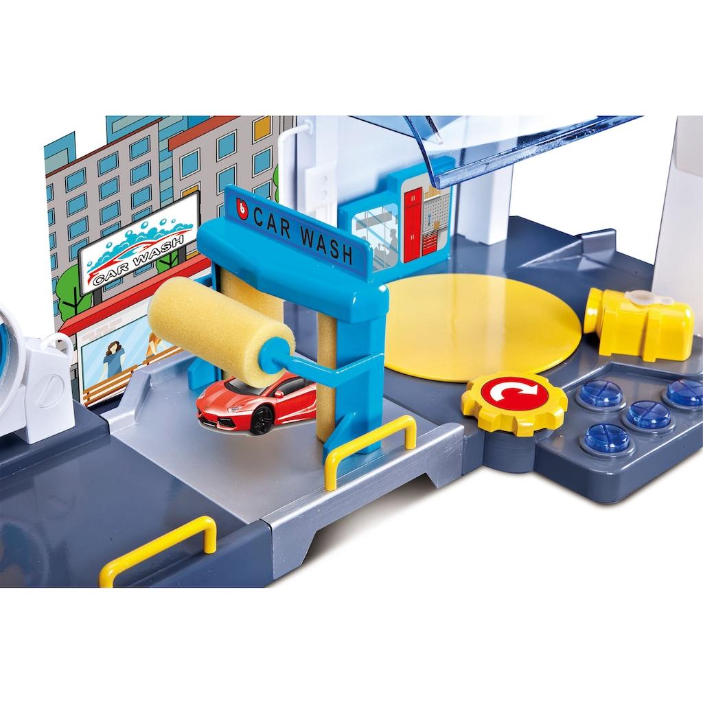 Bburago Spiel-Gebäude »StreetFire Waschstraße«, inklusive 1 Fahrzeug