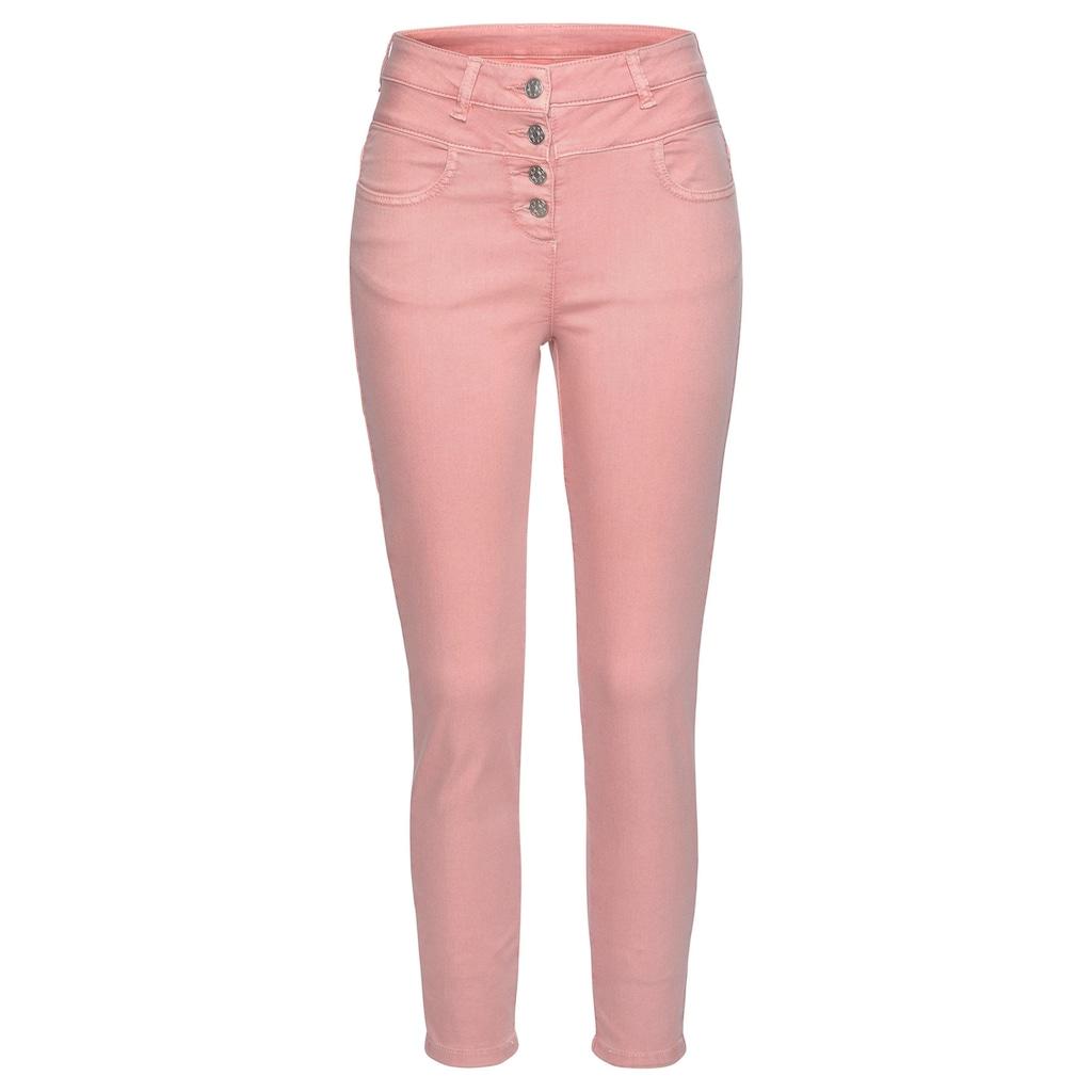LASCANA High-waist-Jeans, aus Superstrech-Qualität