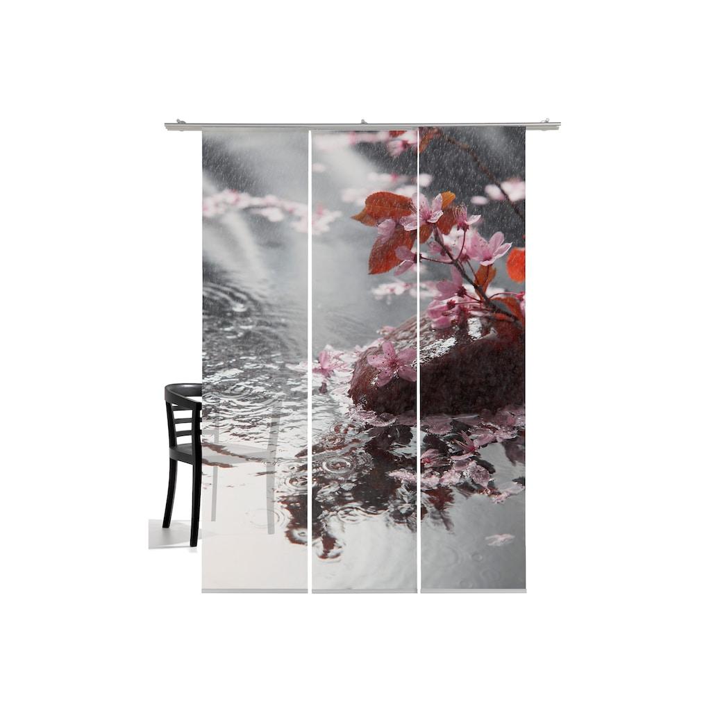 emotion textiles Schiebegardine »Blütenregen«, HxB: 260x60, mit Befestigungszubehör