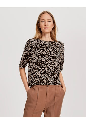OPUS T-Shirt »Solika abstract«, im Animal-Print kaufen