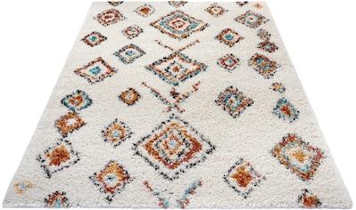 MINT RUGS Hochflor-Teppich »Phoenix«, rechteckig, 33 mm Höhe, besonders weich durch Microfaser, Wohnzimmer kaufen
