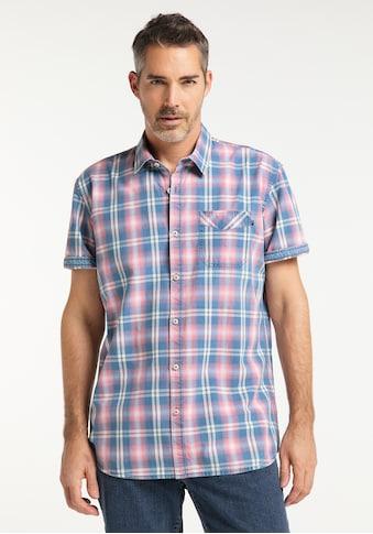 Pioneer Authentic Jeans Herrenhemd Indigo Regular Fit kaufen