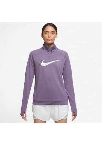 Nike Laufshirt »DRI-FIT SWOOSH RUN WOMENS 1/2-ZIPPER«, In großen Größen kaufen