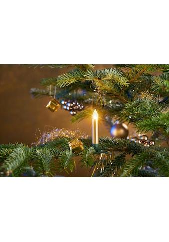 BONETTI LED-Christbaumkerzen, kabellos, 25 Kerzen plus Zubehör kaufen