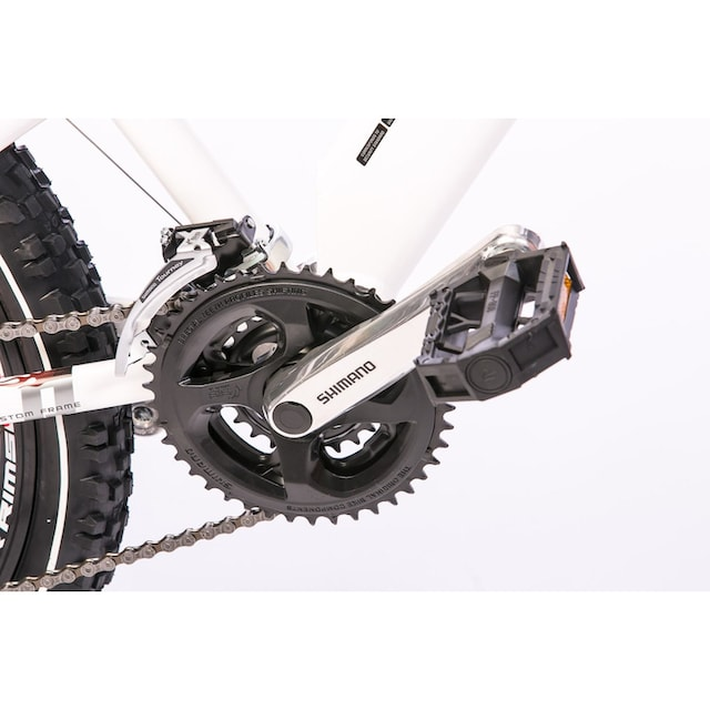 Tretwerk Mountainbike »Vole 2.0«, 24 Gang Shimano Acera Schaltwerk, Kettenschaltung