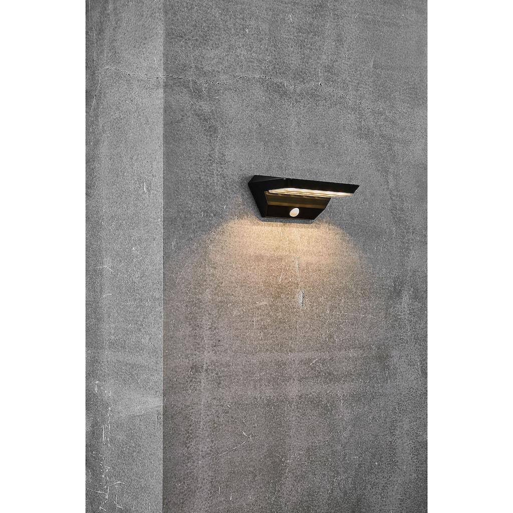 Nordlux LED Außen-Wandleuchte »AGENA«, LED-Modul, 5 Jahre Garantie auf die LED/ Solar Modul