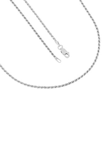 Firetti Silberkette »Kordelkette 8 - fach diamantiert, 1,85 mm« kaufen