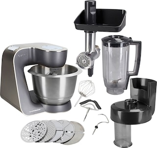 BOSCH Küchenmaschine Home Professional MUM57860, 900 Watt, Schüssel ...