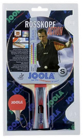 Joola Tischtennisschläger Rosskopf Action (Set 2-tlg mit Schlüsselanhänger) Technik & Freizeit/Sport & Freizeit/Sportarten/Tischtennis/Tischtennis-Ausrüstung