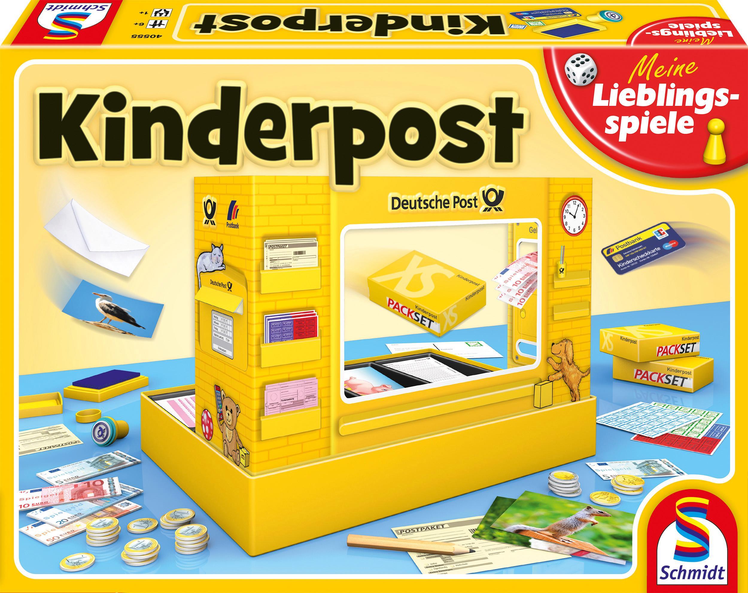 Schmidt Spiele Spiel, Kinderpost bunt Kinder Denkspiele Gesellschaftsspiele