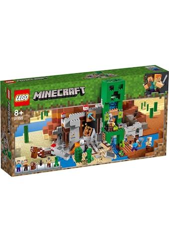 """LEGO® Konstruktionsspielsteine """"Die Creeper™ Mine (21155), LEGO® Minecraft™"""", Kunststoff, (834 - tlg.) kaufen"""