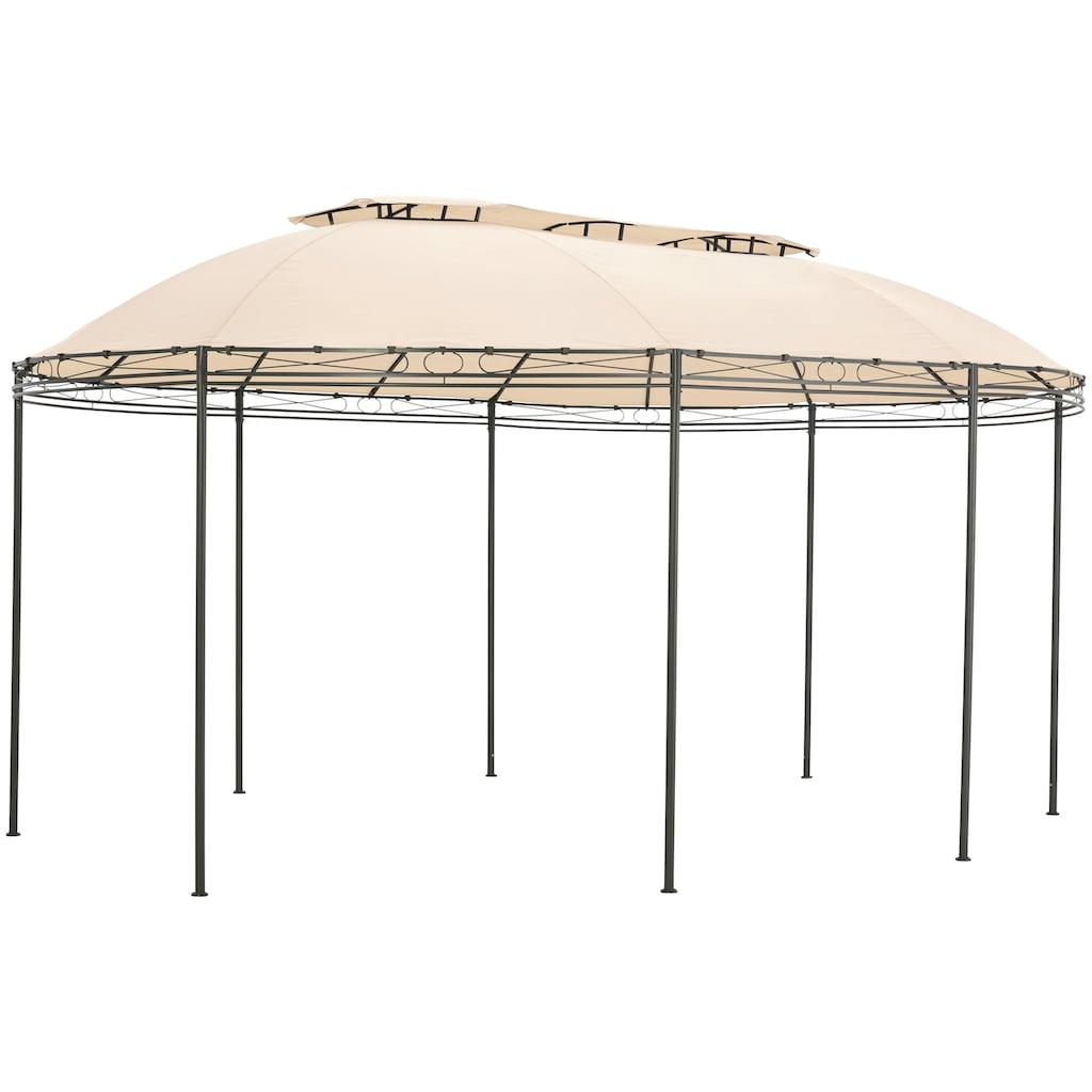 KONIFERA Pavillonersatzdach »Oval«, BxT: 350x500 cm