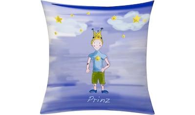 Kissenhülle, »Prinz Nacht«, emotion textiles kaufen