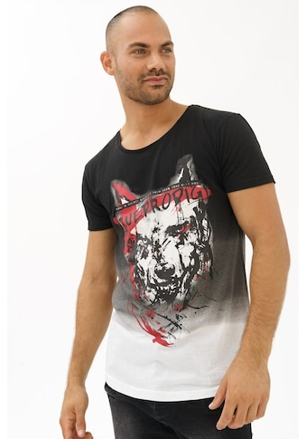 trueprodigy T - Shirt »Angry Wolf« kaufen