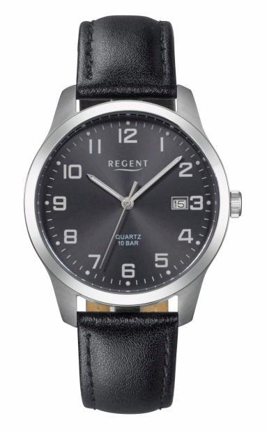 Regent Titanuhr 11190162-F932 | Uhren > Titanuhren | Schwarz | Regent