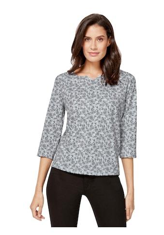 Inspirationen Shirt in topaktuellem Blütenmuster kaufen