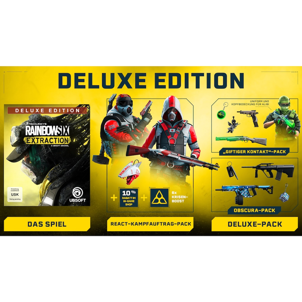 UBISOFT Spiel »Tom Clancy's Rainbow Six® Extraction Deluxe Edition + Vigil Figur«, Xbox Series X