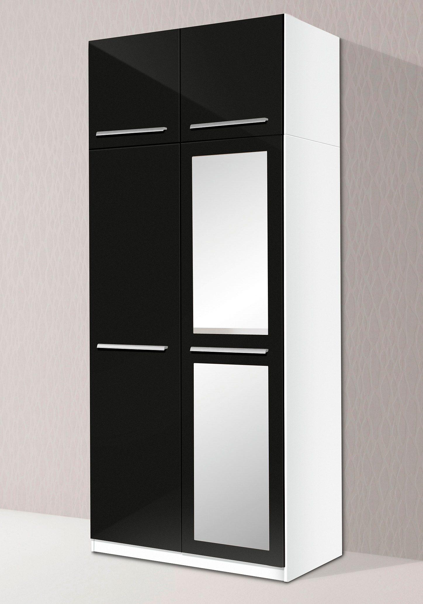 priess Kleiderschrank, 2- bis 5-türig weiß Drehtürenschränke Kleiderschränke Kleiderschrank