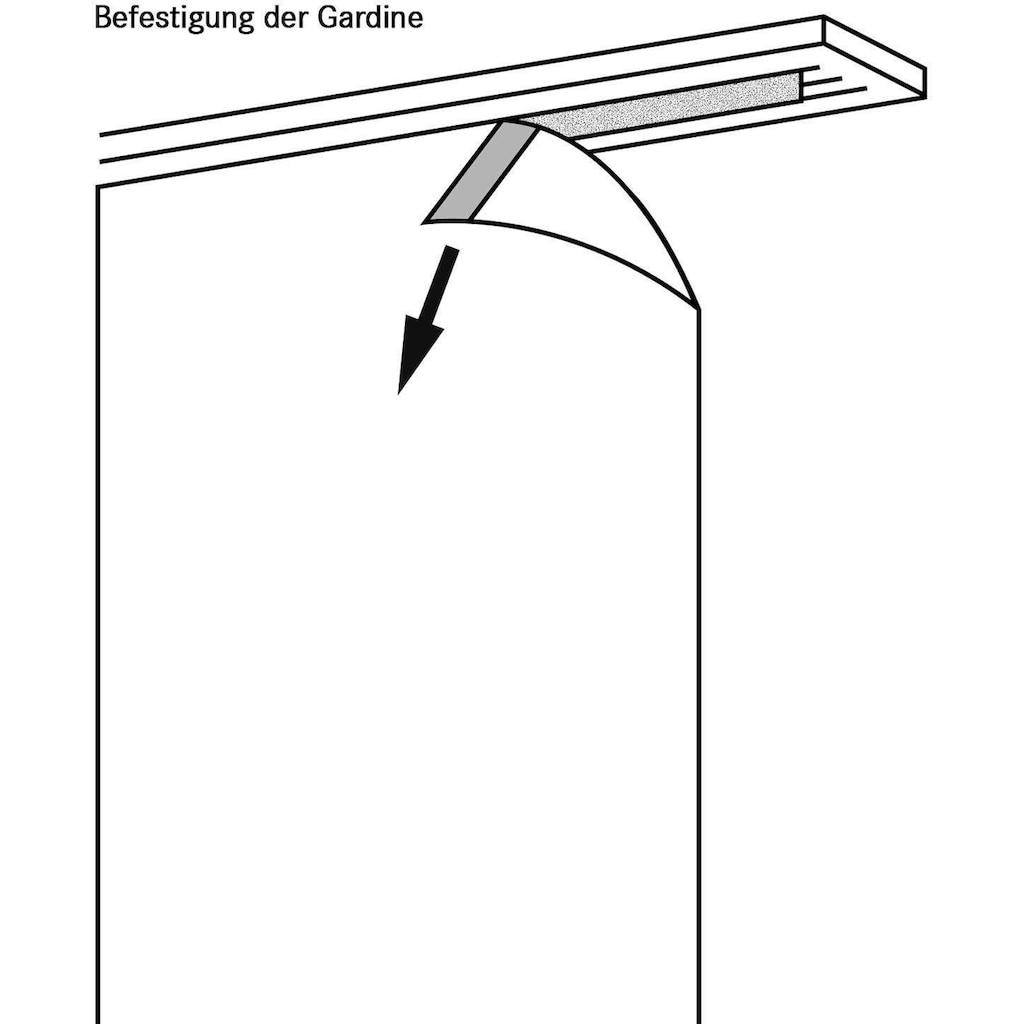 Gerster Schiebegardine »Pius«, HxB: 245x60, Flächenvorhang Uni mit Befestigungszubehör